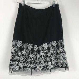 White House Black Market Womens Skirt Size 6
